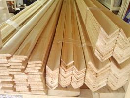 уголок фигурный деревянный фото